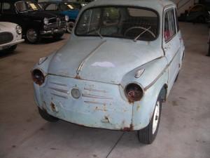 Fiat 600 in restauro