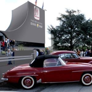 Corso restauratori dedicato a Mercedes 190 SL