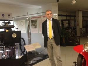 dott Umberto Voltolin nuovo Presidente Museo Bonfanti VIMAR