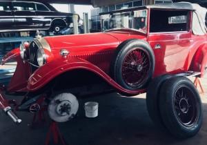 Foto by https://www.facebook.com/bonfantigarage Bonfanti Garage è nostro partner di riferimento per il restauro di auto storiche da collezione e da concorso.